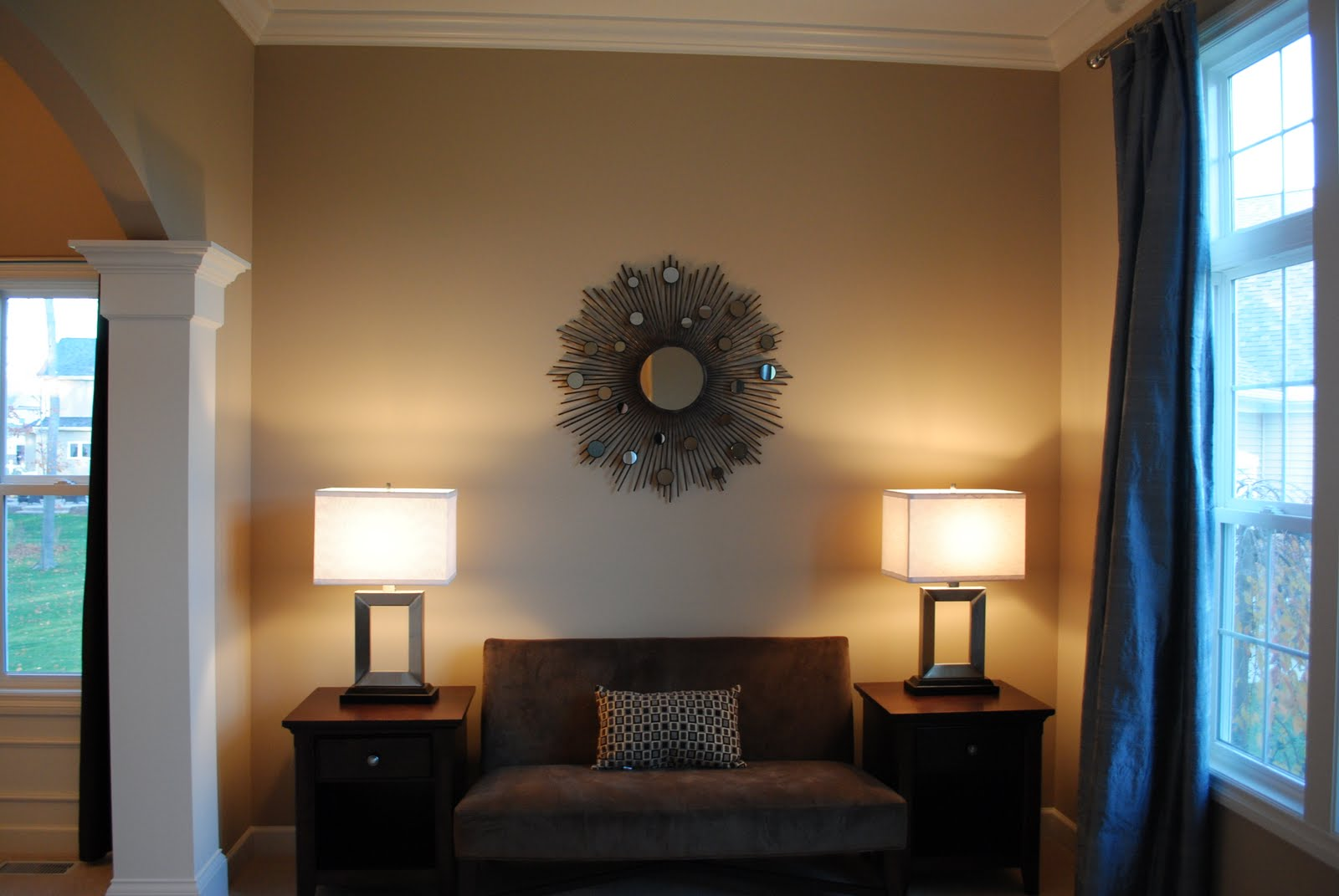 Karen tucci tips for the 40ish converting the living - Turning living room into a bedroom ...