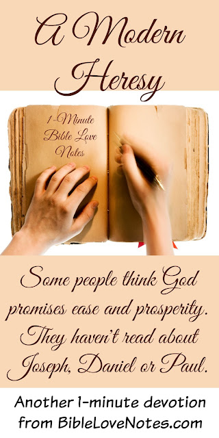 contentment, prosperity gospel