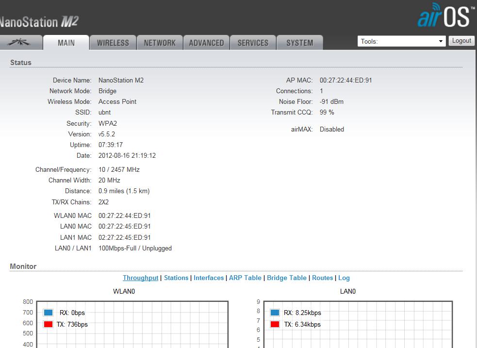 Loza's Blog: NanoStation M2 Setup As An Access Point