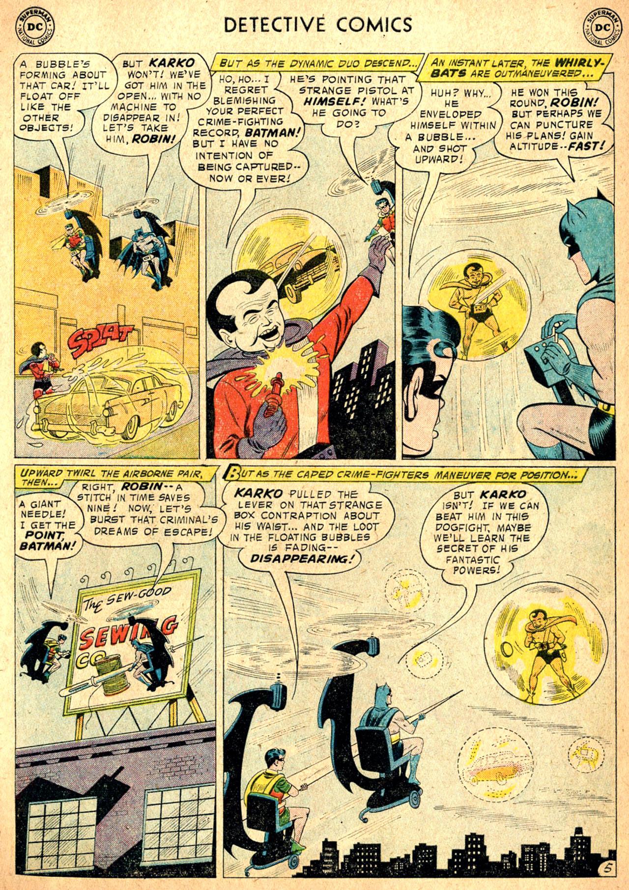 Read online Detective Comics (1937) comic -  Issue #257 - 7