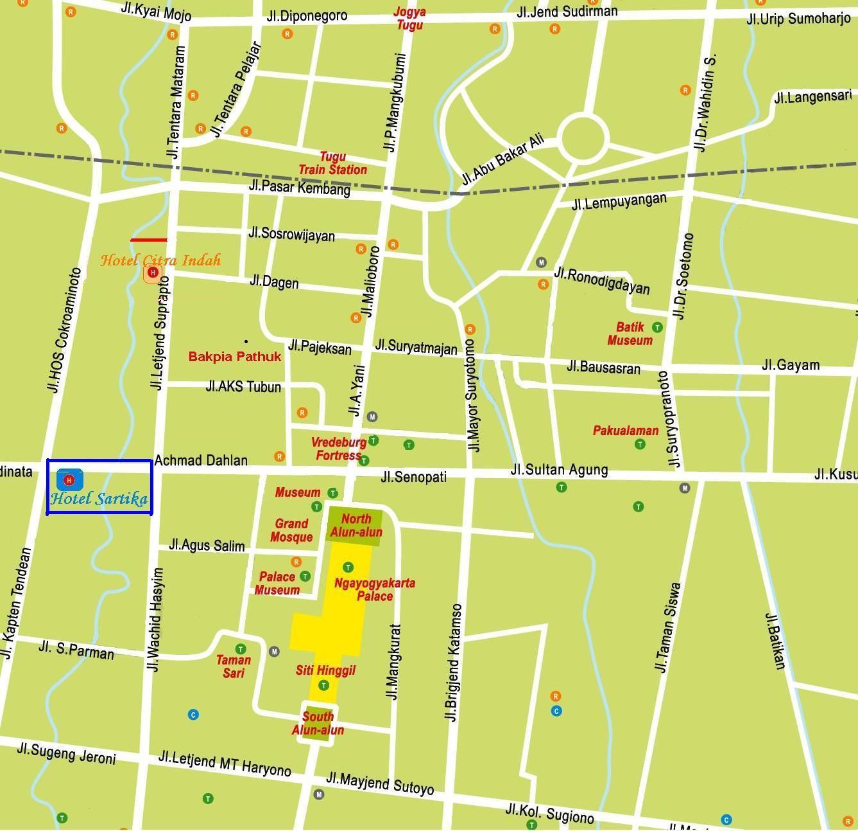 Download ePub PDF Online Free » map jogjakarta