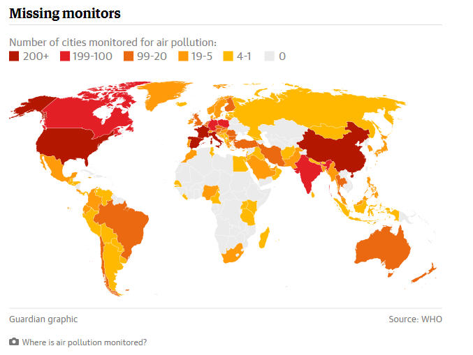 Daily dose of air pollution more than 1 billion people live in the global air pollution blindspot affecting 1 billion people more than 100 of the worlds poorest and most poorly governed countries have no or limited publicscrutiny Images