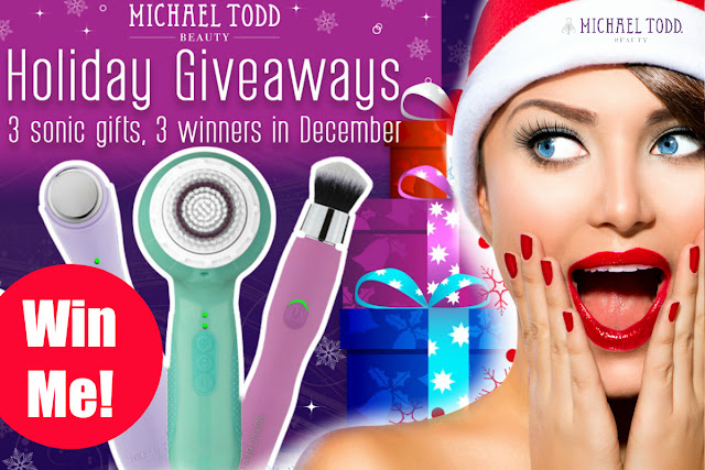Win A Michael Todd Beauty Soniclear And More by barbies beauty bits