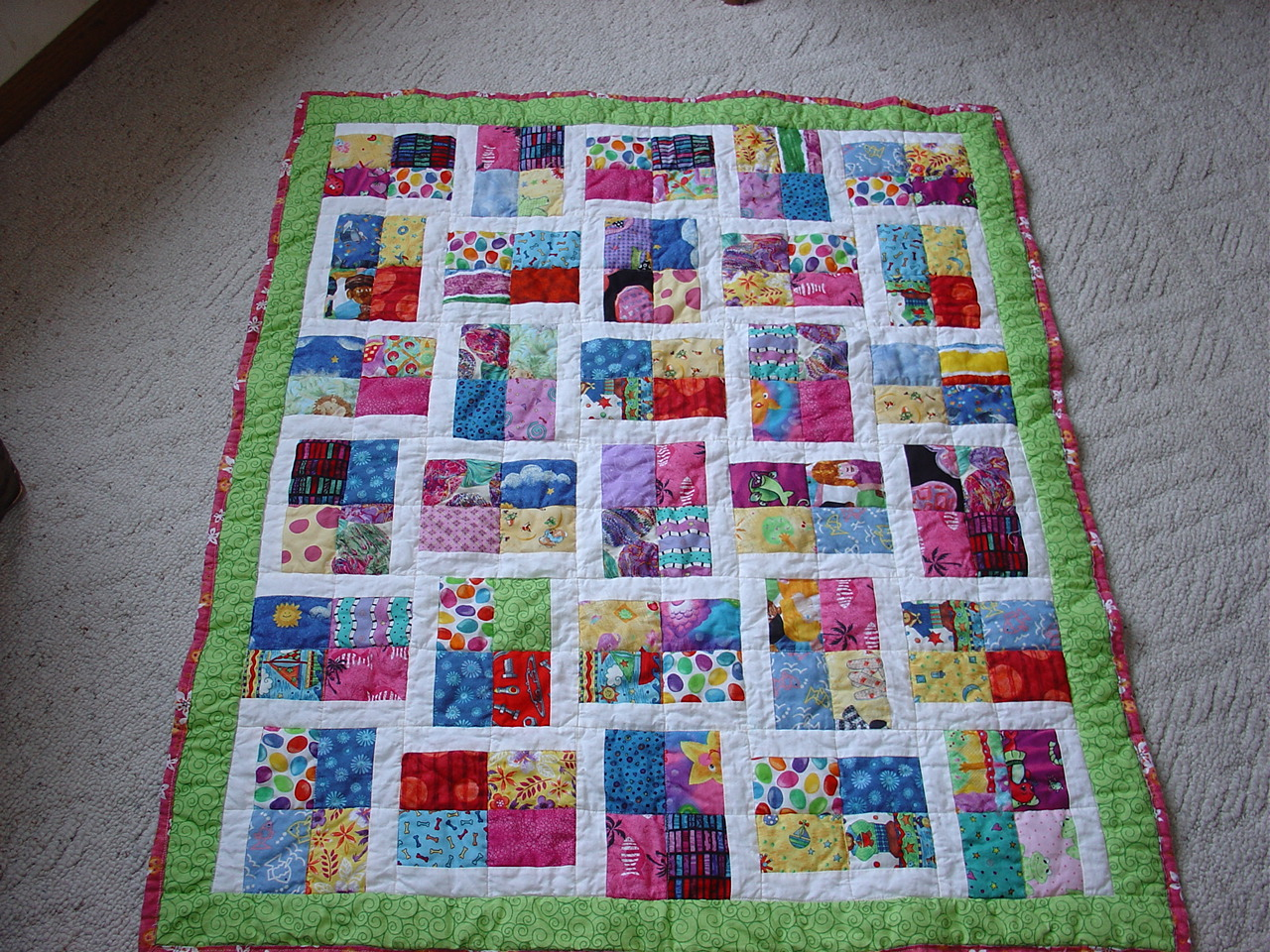 Treadlestitches: Quilts For Kids