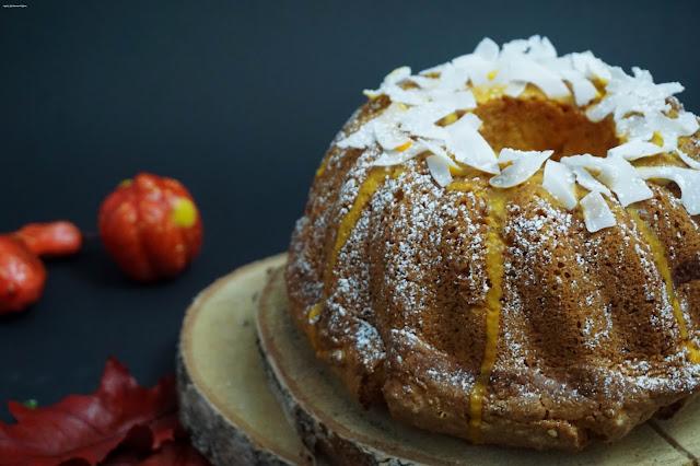 Kürbis-Kokos-Kuchen - Herbst - Gugelhupf