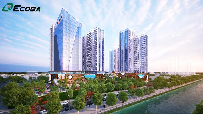 Tiến độ xây dựng của dự án Hinode City Minh Khai