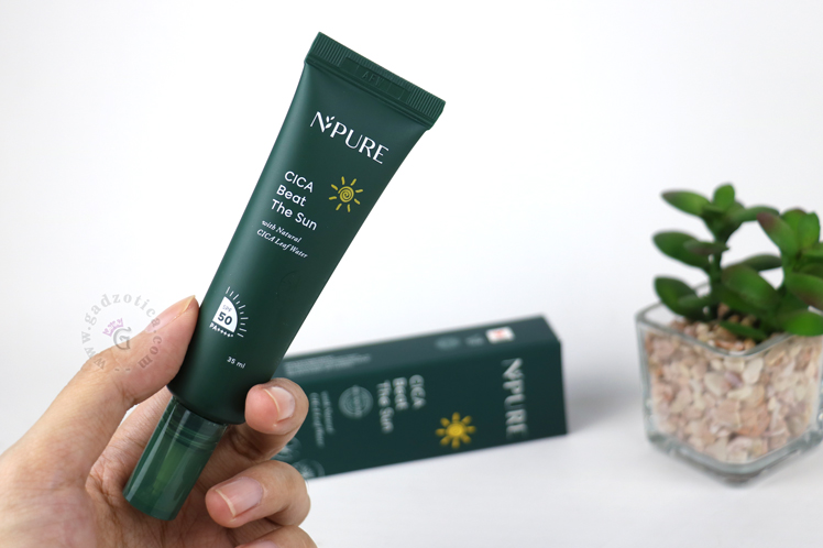 review npure cica beat the sun review