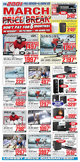 2001 Audio Video Weekly Flyer March 16 - 22, 2018