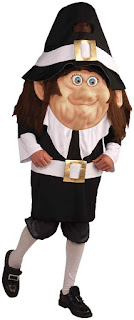 Men's Adult Pilgrim Costume - One Size for Thanksgiving Day