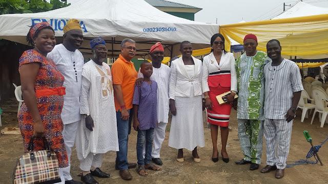 NSE Ikeja Branch swear in Engr Akintola in style as Engr Femi Okunade Counsels Engineers