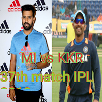 Cricket Live score MI vs KKR IPL 2018 37th match