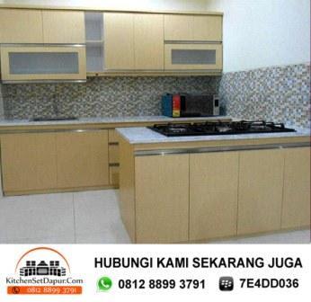 Jasa kitchen set bintaro hub 081288993791 kitchen set for Bikin kitchen set murah