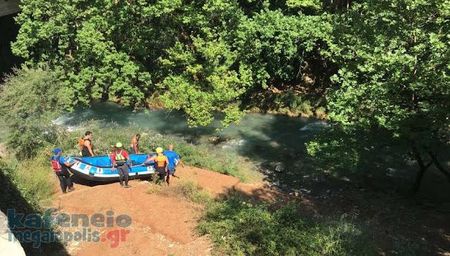 Νεκρός 55χρονος άνδρας στο Λούσιο ποταμό (βίντεο)
