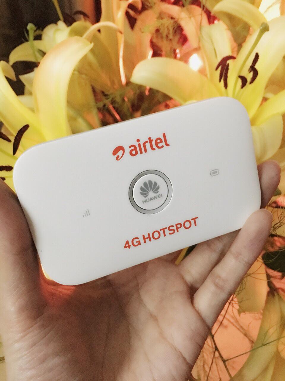 759k - Bộ phát wifi 3G/4G từ sim Huawei Airtel E5573 giá sỉ và lẻ rẻ nhất