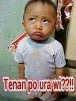 Foto Anak Kecil Lucu Dengan Kata Kata