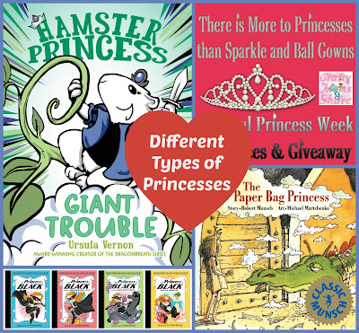 A Different Kind of Princess -- National Princess Week Resources and Giveaway!!