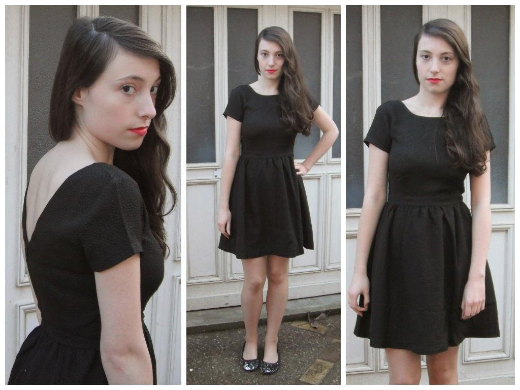 fêtes 2014 lookbook tenue 3 : la petite robe noire