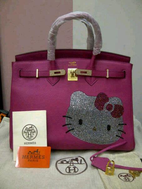 547665e494ed TAS BRANDED  Hello Kitty PREMIUM Pink