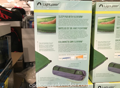 Lightspeed Self-Inflating Sleep Pad with FlexForm: Perfect for your next camping trip
