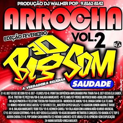 05/02/2017 CD ARROCHA  VOL. 02 BIG SOM SAUDADE