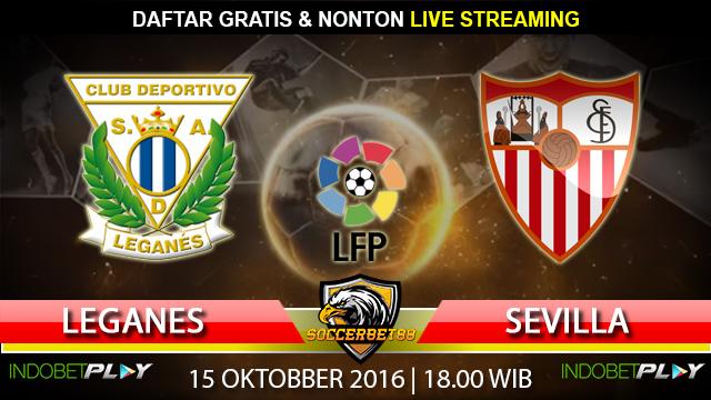 Prediksi Leganes vs Sevilla 15 Oktober 2016 (Liga Spanyol)