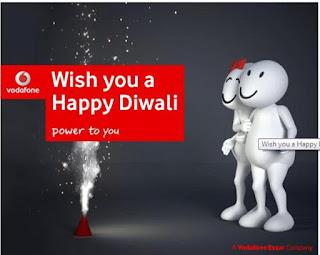 Vodafone 100MB 2G/3G Data For Free - Vodafone Diwali Offer