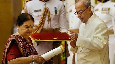 Dhirubhai Ambani awarded Padma Vibhushan