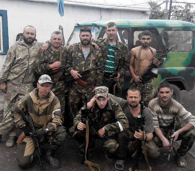 Membros da milicia 'Wagner' ativos na Síria