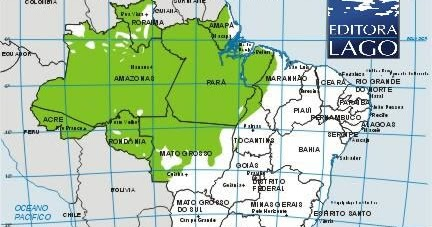 Universo Amazônico Localização Da Floresta Amazônica