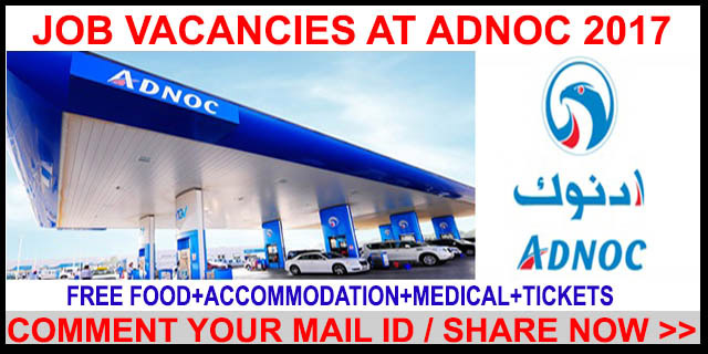 Driver Jobs In Adnoc uae