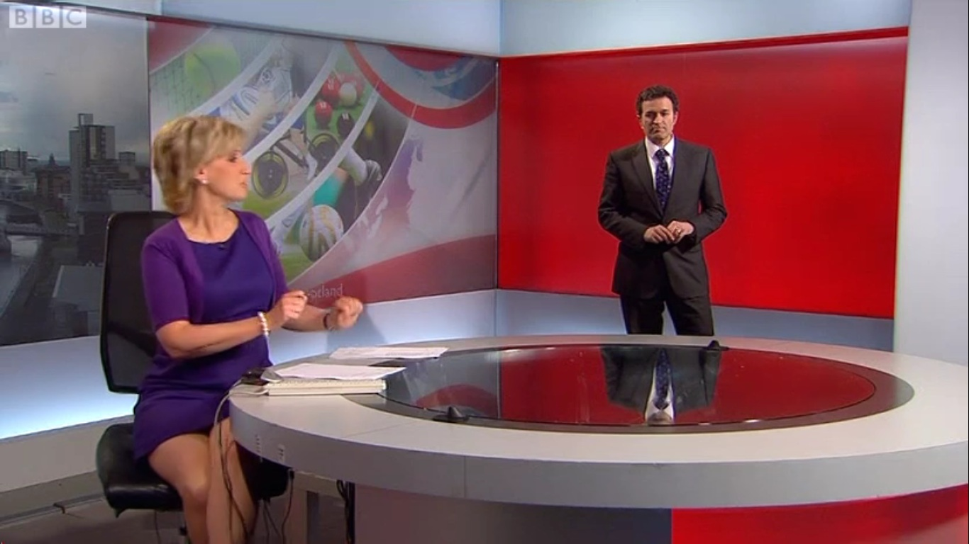 UK Regional News Caps Sally Magnusson BBC Reporting