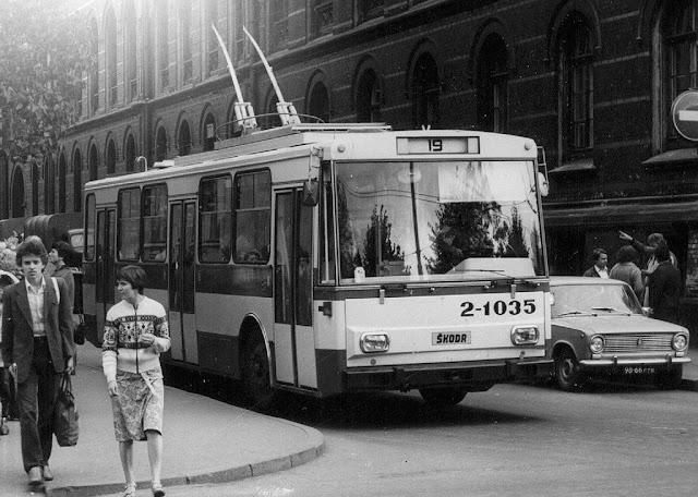 троллейбус 19 рига