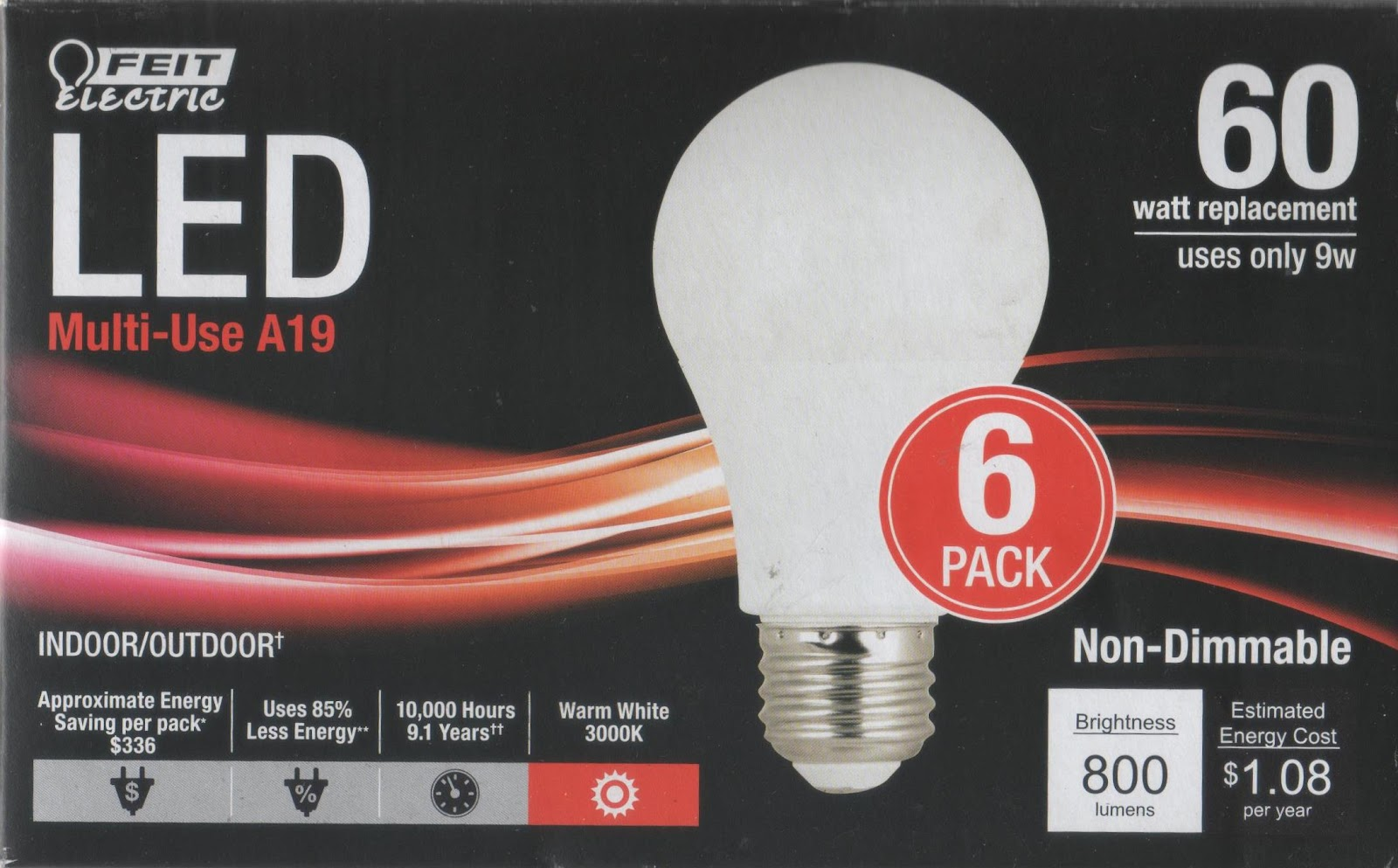 Energy Conservation How To Review Feit Electric 60 Watt