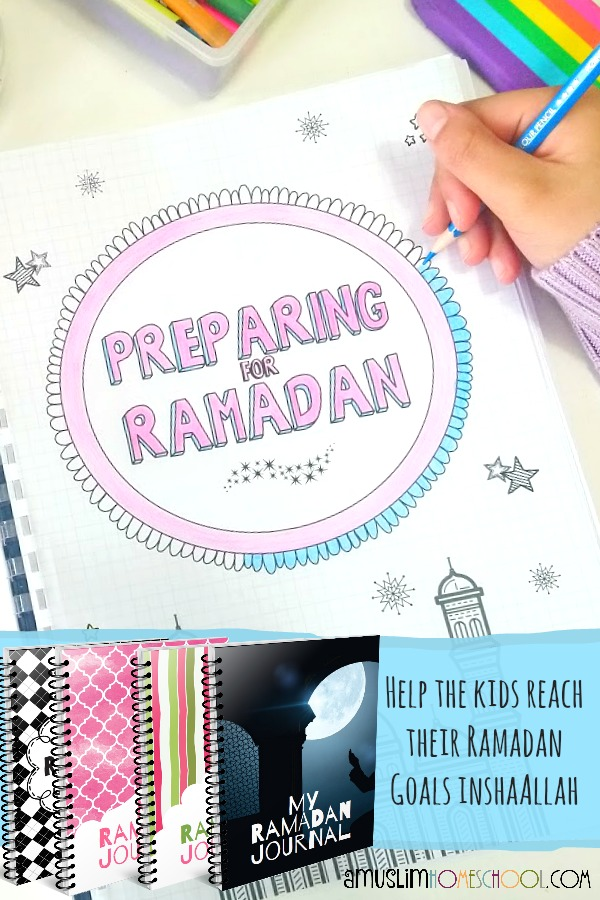 Help children prepare for Ramadan and reach their Ramadan goals with this printable journal