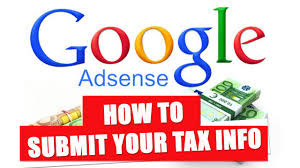 how to fill and submit the us adsense tax form