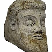На стройке Крымского моста найдена голова античного божества