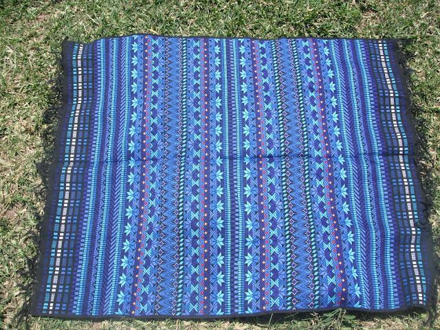 Guatemala Mayan textile fabric back-strapped woven