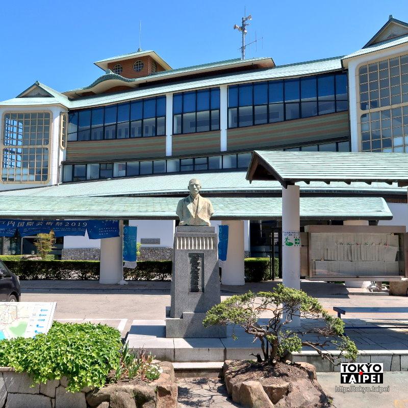 【直島町役場】海島上的飛雲閣 藝術小島3千住民的行政中心