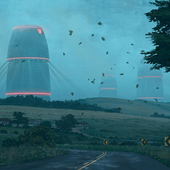 Simon Stålenhag: The Electric State Wallpaper Engine