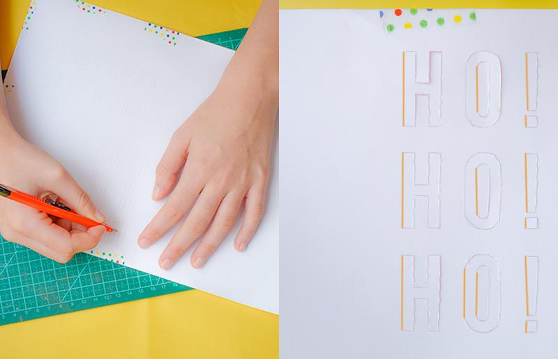 Pra imprimir e fazer em casa: um cartão de natal 3D para dar para as pessoas mais queridas! | dcoracao.com
