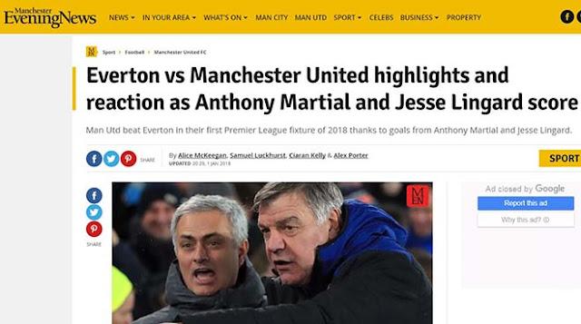 """MU hạ Everton: Báo chí Anh mừng như """"bắt được vàng"""", khen Mourinho hết lời 5"""