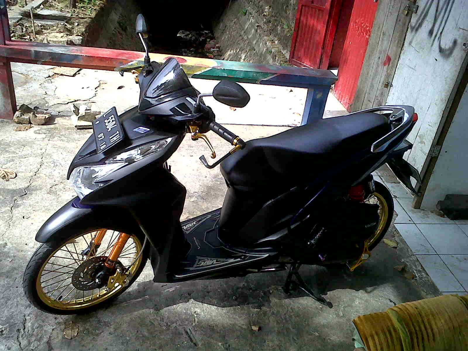 Modifikasi Vario 125 Injection Kumpulan Modifikasi Motor Vario