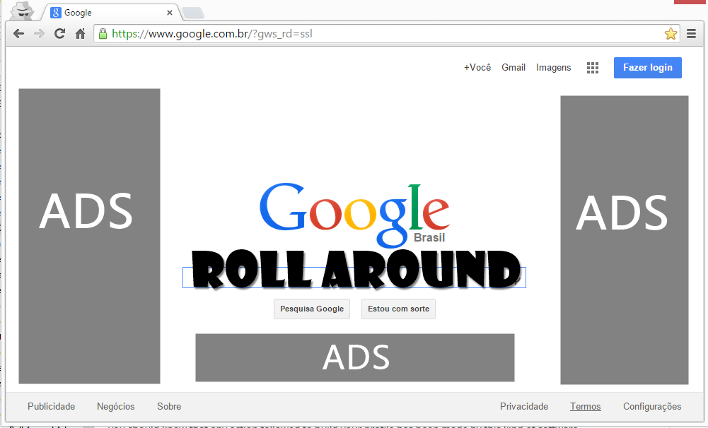roll around, chrome, malware, remover roll around