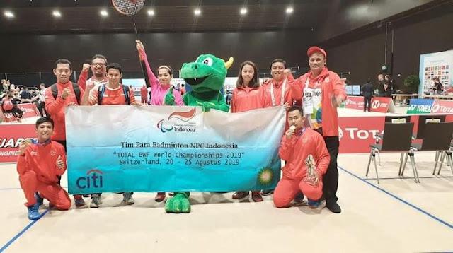 Selain The Daddies, Para Bulutangkis Juga Rebut 4 Emas di Kejuaraan Dunia 2019