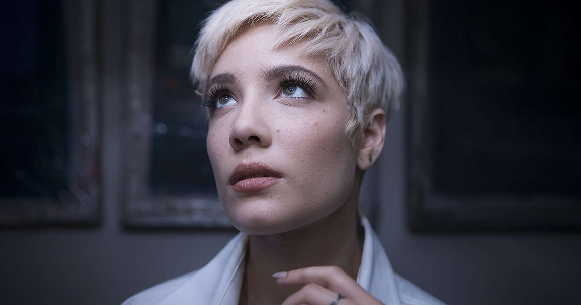 Powered by imdb Halsey was born and raised in Clark New Jersey as Ashley Frangipane She is of Italian Hungarian and Irish descent on her mothers side and