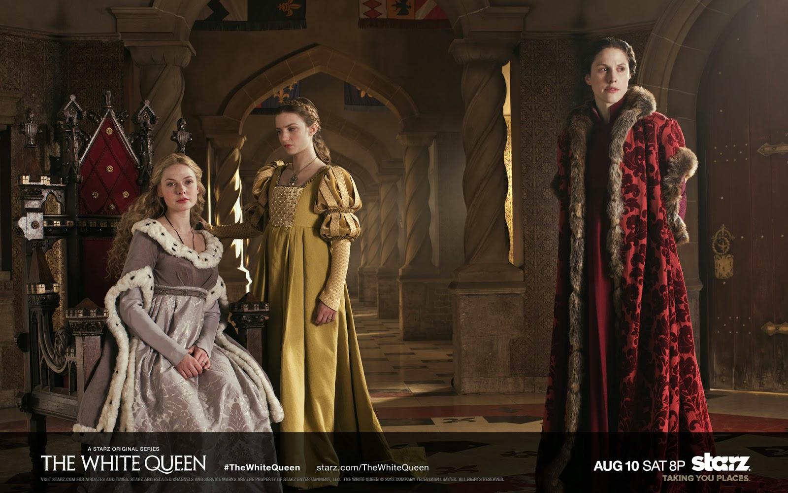 """Elizabeth, Małgorzata, Anna. """"Biała Królowa"""" (2013)"""