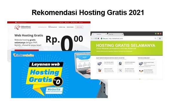 rekomendasi hosting gratis