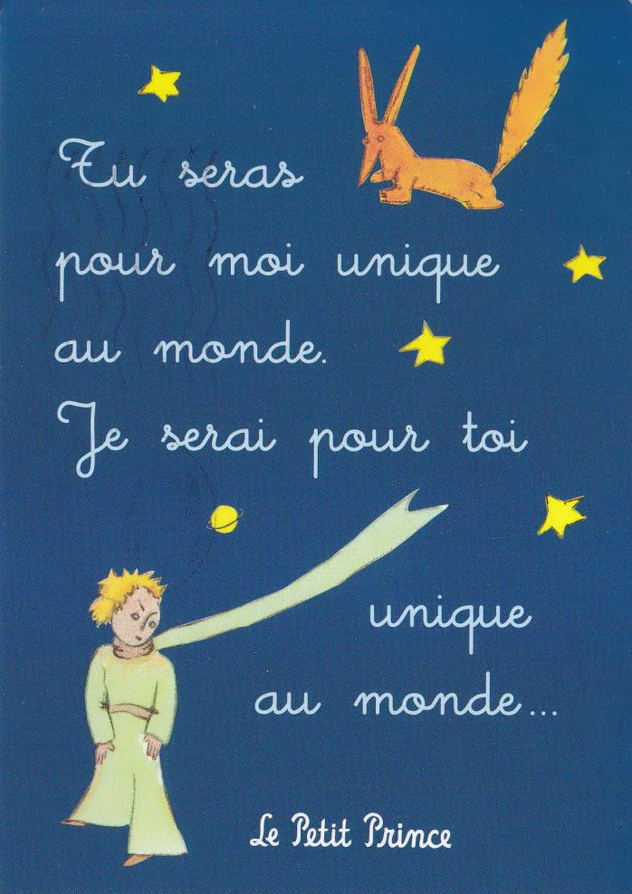 Le Petit Prince - cytat 4 - Francuski przy kawie