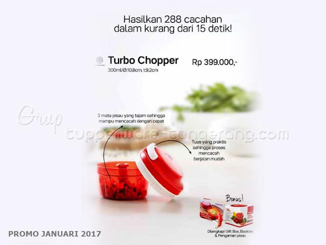 Turbo Chopper Promo Tupperware Januari 2017