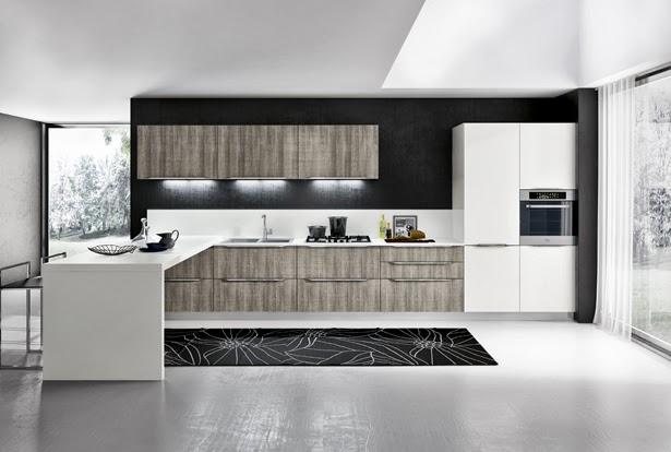 Dise o con pen nsula una alternativa muy pr ctica for Diseno de cocinas grandes y modernas